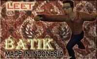 Модель leet in batik