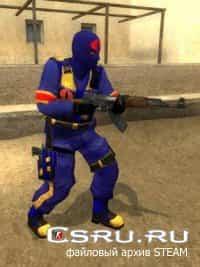 Модель игрока Cobra для CS:S