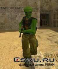 Модель игрока Alien Guerilla для Cs1.6