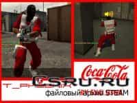 Модель игрока T_Phoenix_CocaCola для CS:S