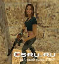Модель игрока Female Terror для Cs1.6