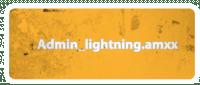 Плагин Admin_lightning для Cs1.6