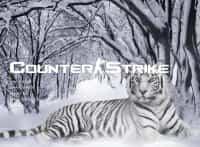 Тема меню White Tiger на белоснежном покрове для CS:S