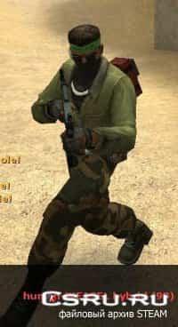 Модель игрока Hamas Elite Terrorist для CS:S