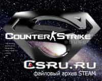 Тема меню Superman Space Logo для CS:S