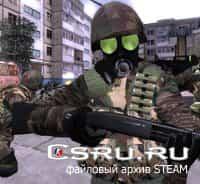 Модель игрока HECU soldier remake woodland