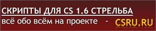 Cкрипты для cs 1.6 стрельба