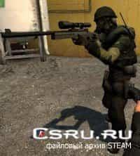 Модель игрока лесной камуфляжный для CS:S