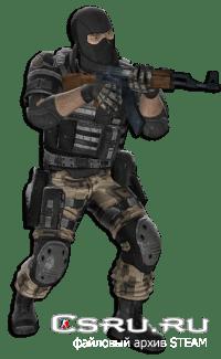 Модель игрока Leet [FEAR 2] для CS:S