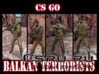 Скины терроров Cs Go balkan terrorist team