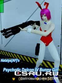 Модель девушки с ушами Psychotic Bunny Girl для css